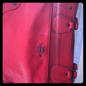 Inside of the beautiful handbag